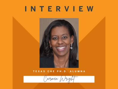 Carmen Wright interview banner